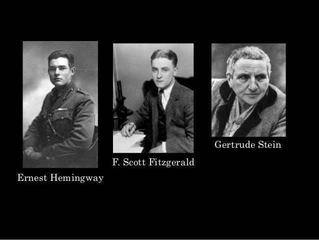 Hemingway Fitzgerald Stein
