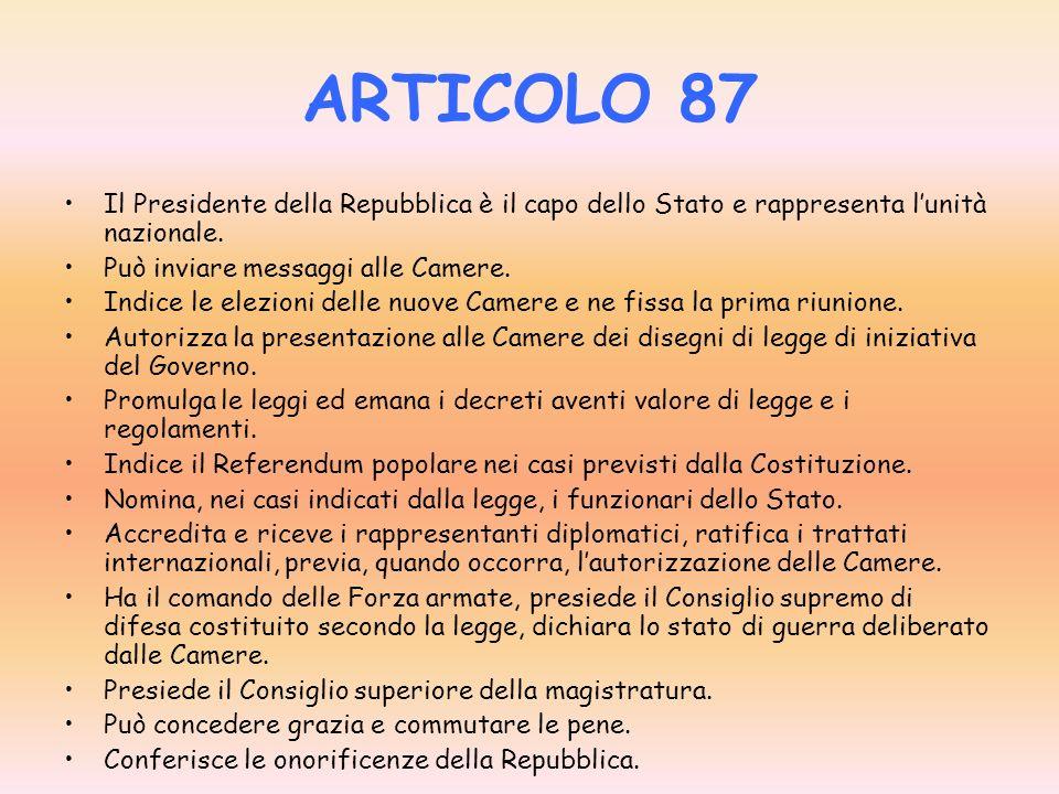 articolo 87